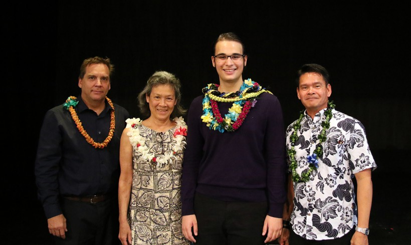 Poetry Out Loud Hawaii State Champion