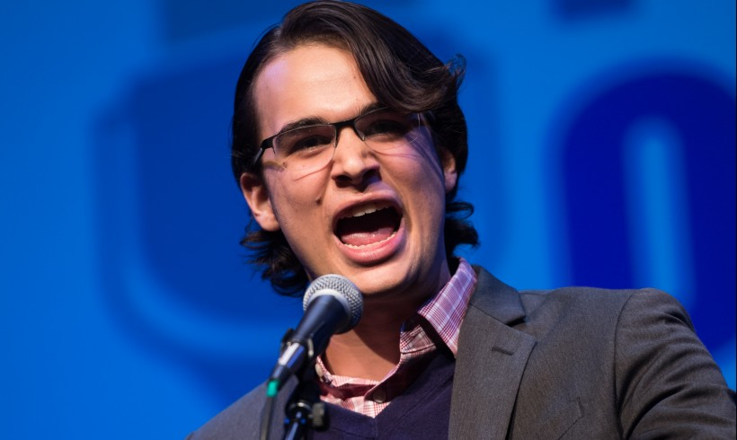 Nicholas Amador places 2nd at Poetry Out Loud National Finals!